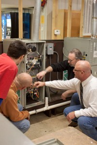 Randy Gardner leads Ivy Tech's internationally accredited HVAC/R program.