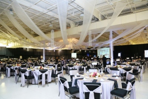 St.Joseph Hospital chose the event center as the venue for its 100th anniversary gala in November 2013