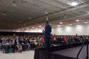More than 1,100 students attended the Feb. 6 convocation