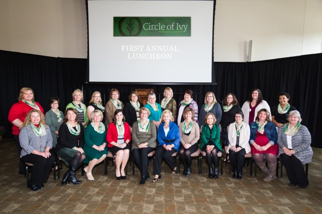 Twenty-four women represented Kokomo Region at the 2016 Circle of Ivy luncheon