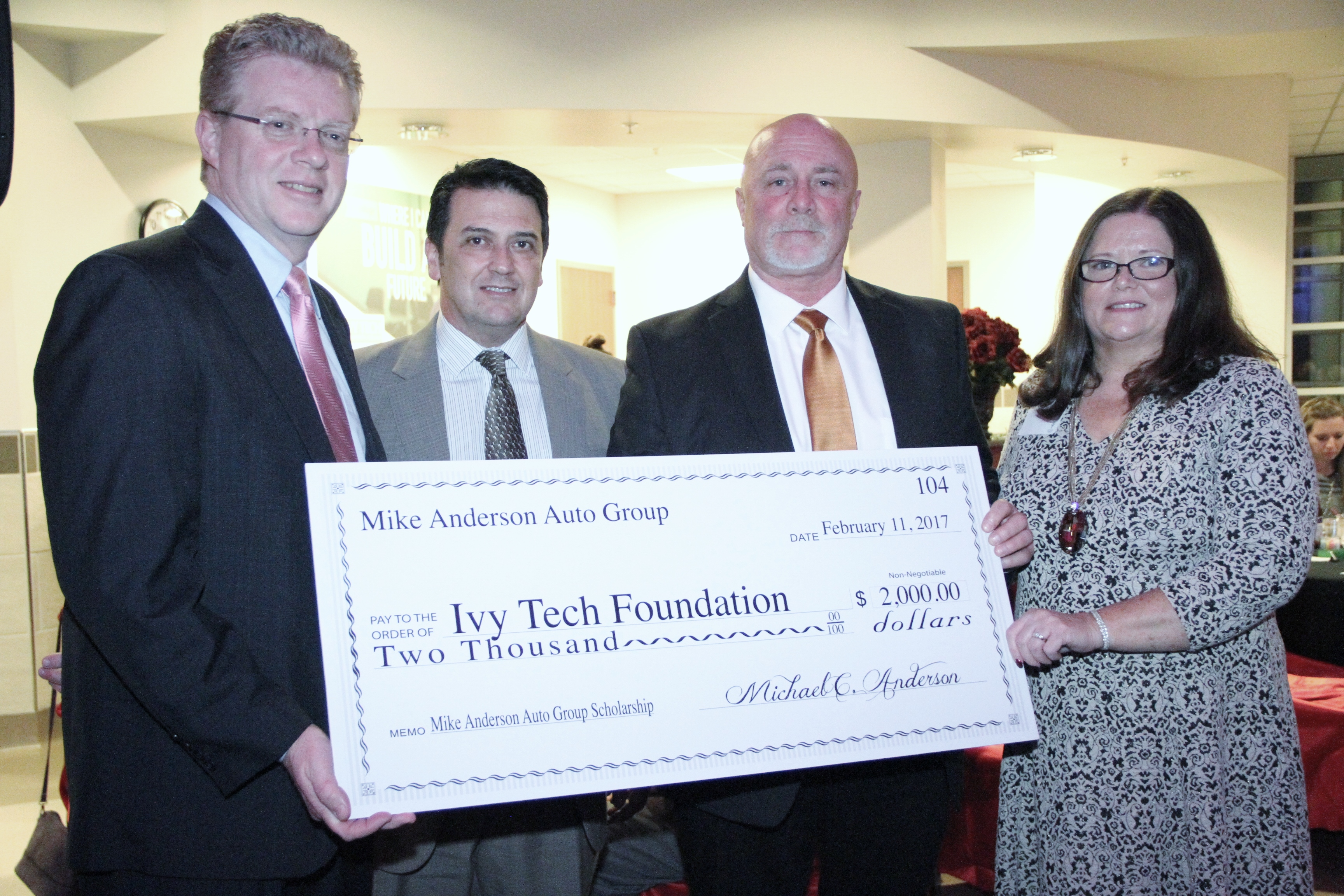 Ivy Tech Students To Benefit From Logansport Campus Scholarship